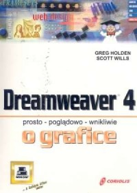 Dreamweaver 4 - okładka książki