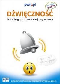 Dźwięczność. Trening poprawnej wymowy (płyta cd) - okładka książki