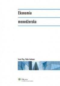 Ekonomia menadżerska - okładka książki