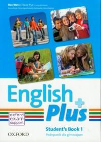 English Plus 1A SB - okładka podręcznika