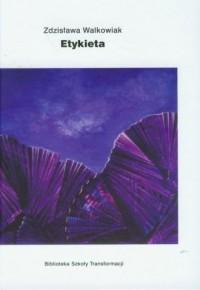 Etykieta - okładka książki