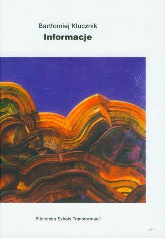Informacje - okładka książki