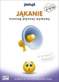 Jąkanie. Trening płynnej wymowy (CD) - okładka książki
