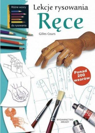 Lekcje rysowania. Ręce - okładka książki