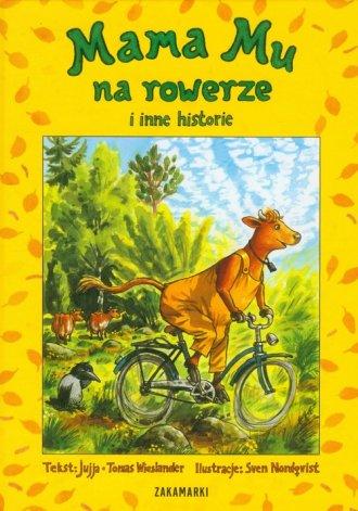 Mama Mu na rowerze i inne historie - okładka książki
