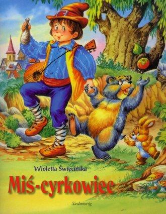 Miś-cyrkowiec - okładka książki
