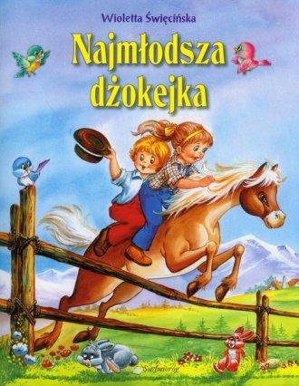 Najmłodsza dżokejka - okładka książki