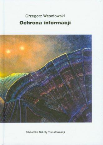 Ochrona informacji - okładka książki