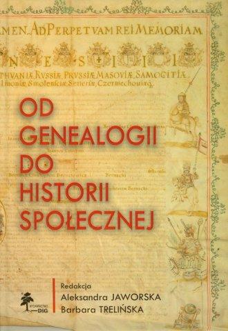 Od genealogii do historii społecznej - okładka książki