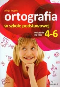 okładka książki - Ortografia w szkole podstawowej.