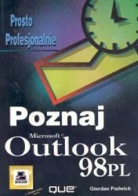 Outlook 98 Poznaj - okładka książki