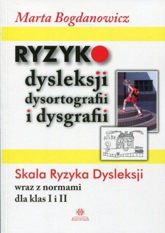 Ryzyko dysleksji dysortografii - okładka książki