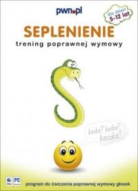 Seplenienie. Trening poprawnej wymowy (CD) - okładka książki