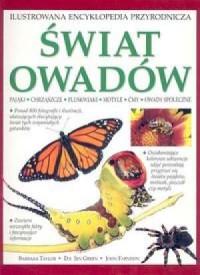 Świat owadów. Ilustrowana encyklopedia przyrodnicza - okładka książki