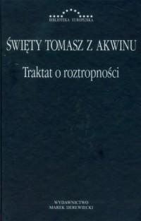Traktat o roztropności - okładka książki