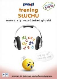 Trening słuchu. Naucz się rozróżniać głoski (CD) - okładka książki