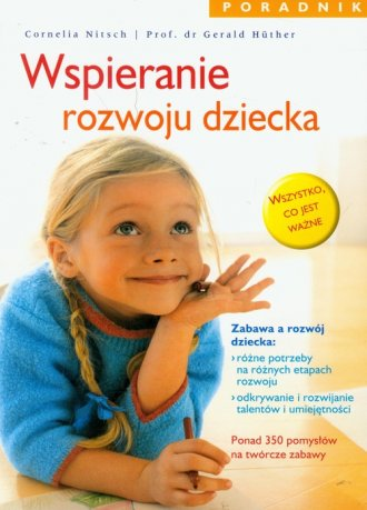Wspieranie rozwoju dziecka. Poradnik - okładka książki