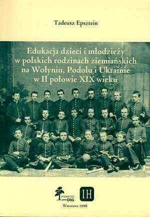 Edukacja dzieci i młodzieży w polskich - okładka książki