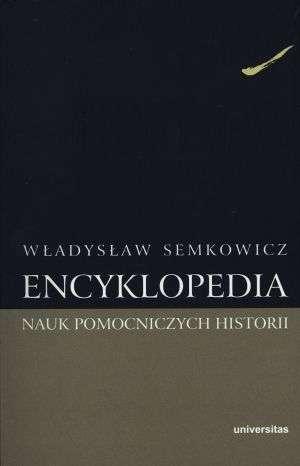 Encyklopedia nauk pomocniczych - okładka książki