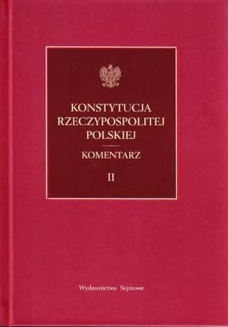 Konstytucja Rzeczypospolitej Polskiej. - okładka książki