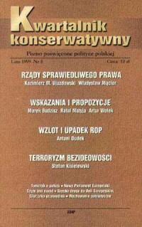 Kwartalnik Konserwatywny nr 5 (lato) - okładka książki