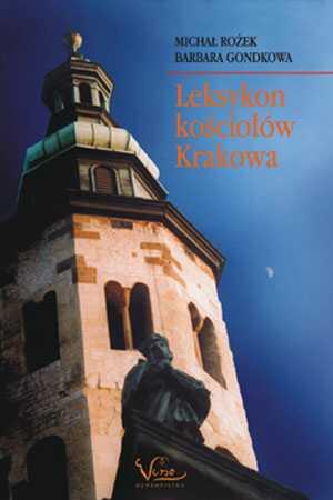 Leksykon kościołów Krakowa - okładka książki