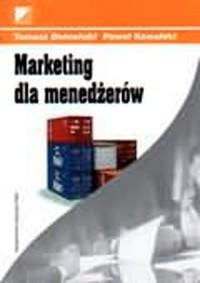 Marketing dla menedżerów - okładka książki