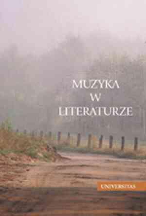 Muzyka w Literaturze. Antologia - okładka książki