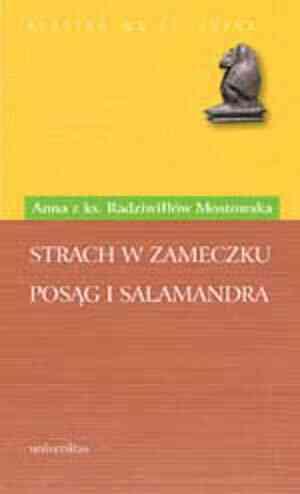 Strach w zameczku. Posąg i Salamandra. - okładka książki