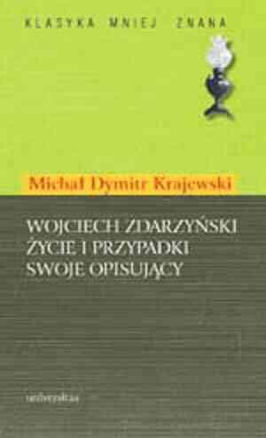 Wojciech Zdarzyński życie i przypadki - okładka książki