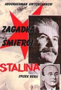Zagadka śmierci Stalina - okładka książki