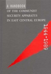 A Handbook of the Communist Security Apparatus - okładka książki