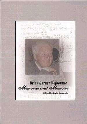 Brian Garner Wybourne Memories - okładka książki