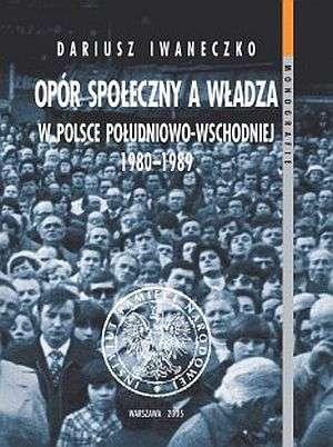 Opór społeczny a władza w Polsce - okładka książki