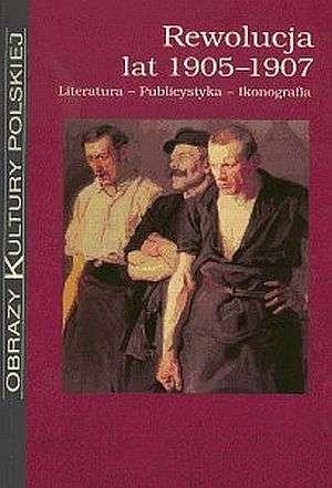 Rewolucja lat 1905-1907. Literatura. - okładka książki
