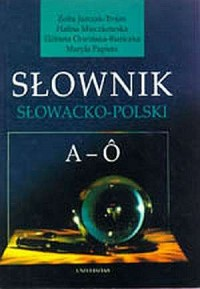 Słownik słowacko-polski. Tom 1-2 - okładka książki