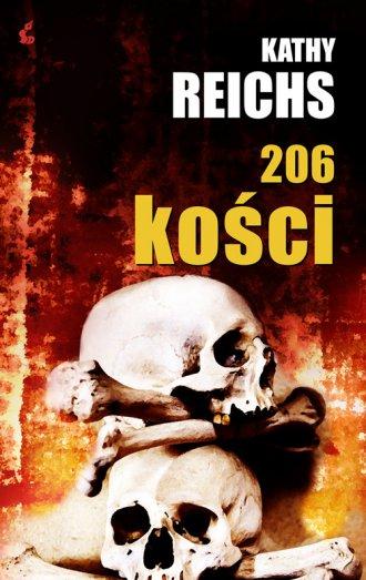 206 Kości - okładka książki