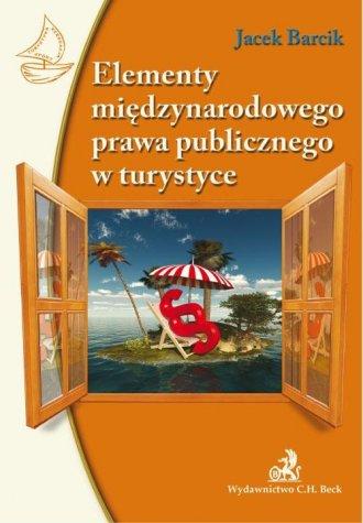Elementy międzynarodowego prawa - okładka książki