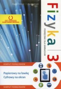 Fizyka 3. Gimnazjum. Podręcznik - okładka podręcznika