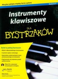 Instrumenty klawiszowe dla bystrzaków - okładka książki