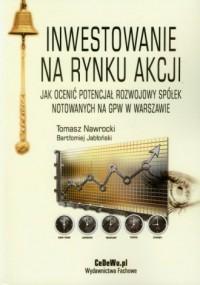 Inwestowanie na rynku akcji - okładka książki