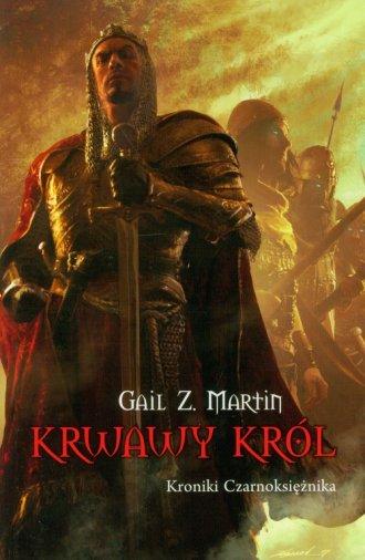 Krwawy Król Kroniki Czarnoksiężnika - okładka książki