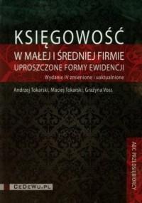 Księgowość w małej i średniej firmie (+ CD) - okładka książki