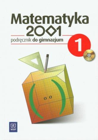 Matematyka 2001. Klasa 1. Gimnazjum. - okładka podręcznika