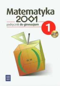 Matematyka 2001. Klasa 1. Gimnazjum. Podręcznik (+ CD) - okładka podręcznika