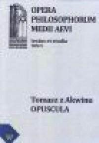 Opera Philosophorum Medii Aevii. Tom 9, fasc. 1 - okładka książki