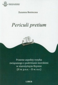 Periculi pretium - okładka książki