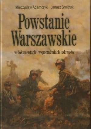 Powstanie Warszawskie w dokumentach - okładka książki