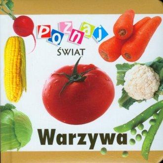 Poznaj świat. Warzywa - okładka książki