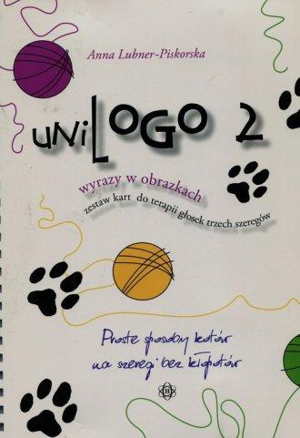 UniLogo 2. Wyrazy w obrazkach. - okładka książki
